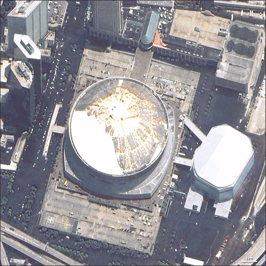 Super Dome August 31, 2005